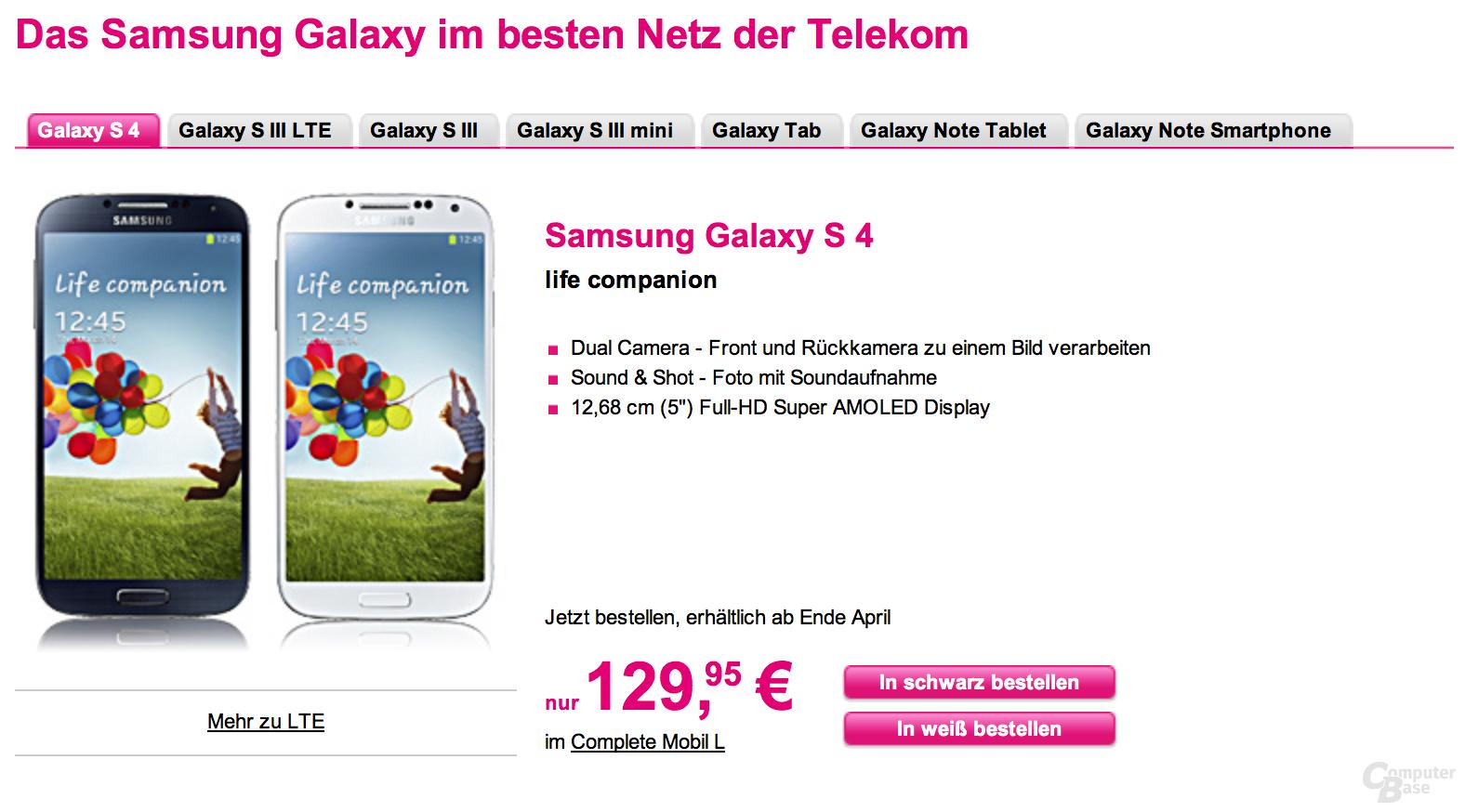 Deutsche Telekom startet Vorbestellung