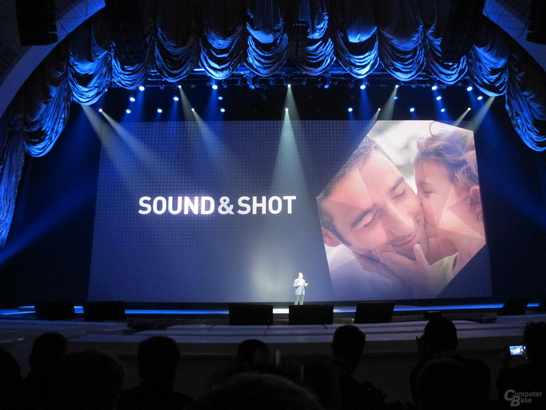 Präsentation des Samsung Galaxy S4