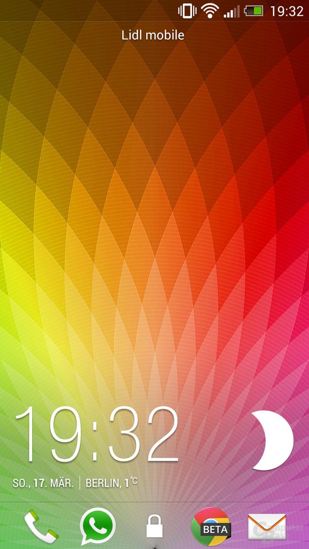 HTC One Lockscreen