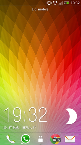 HTC One Lockscreen