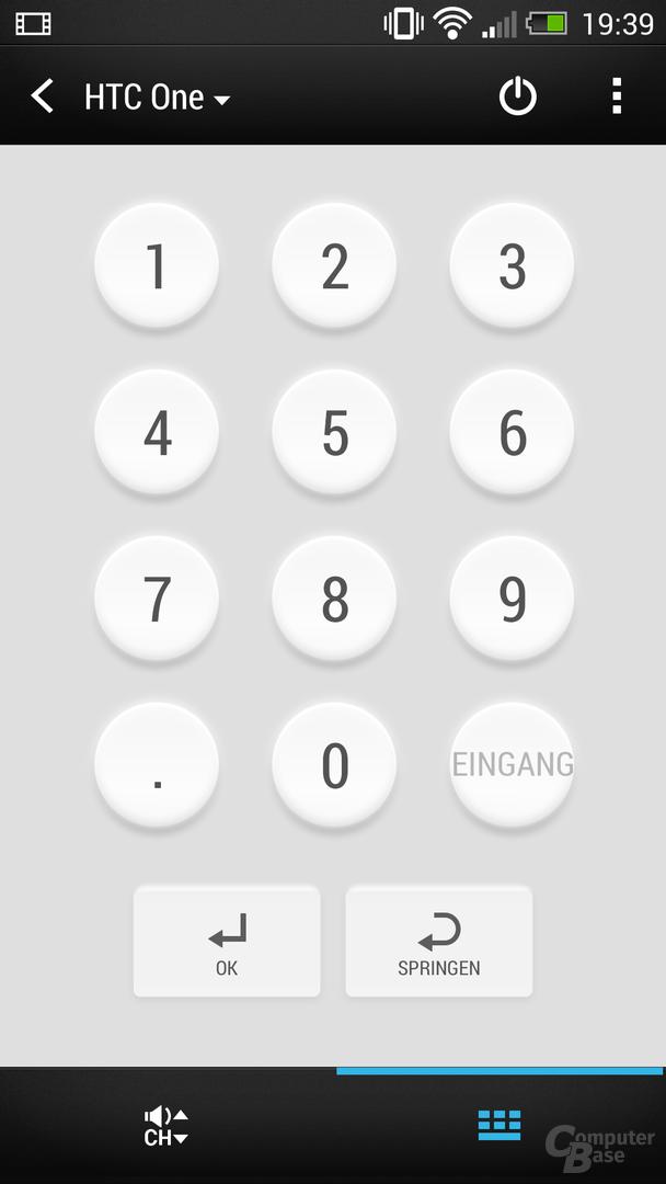 HTC One Sense TV