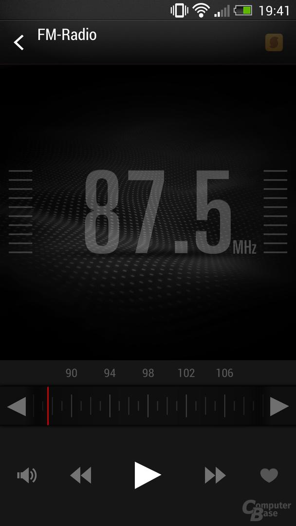 HTC One Radio