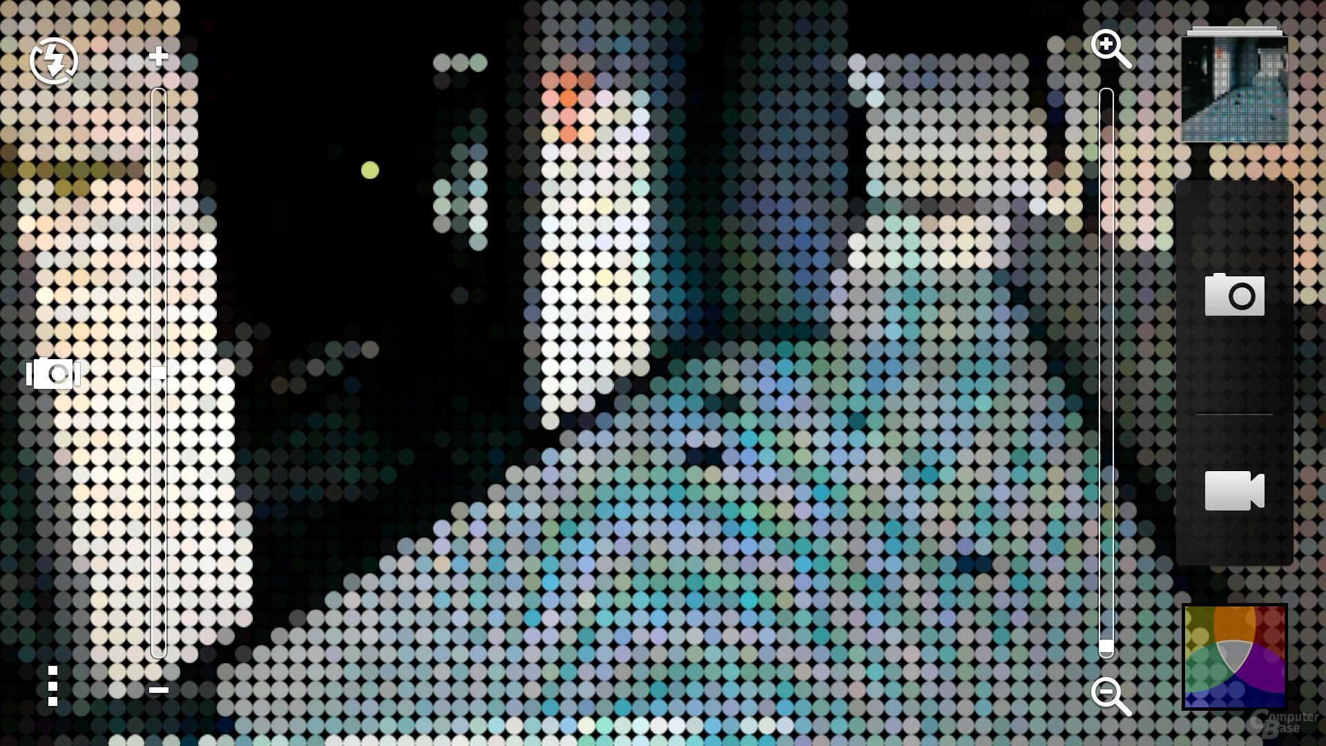 HTC One Kamera-Effekte
