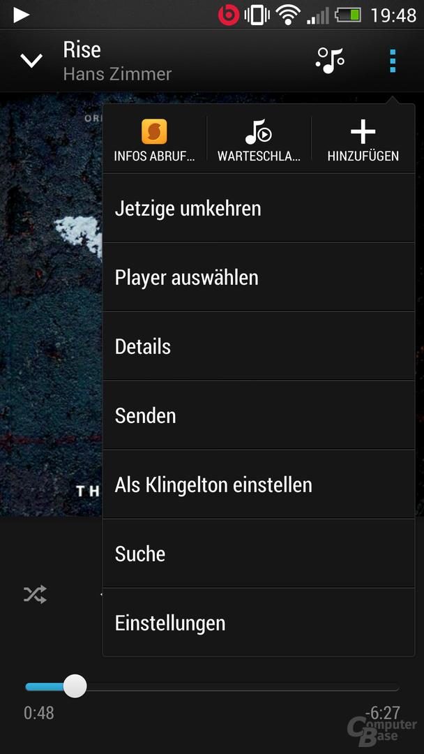 HTC One Musik