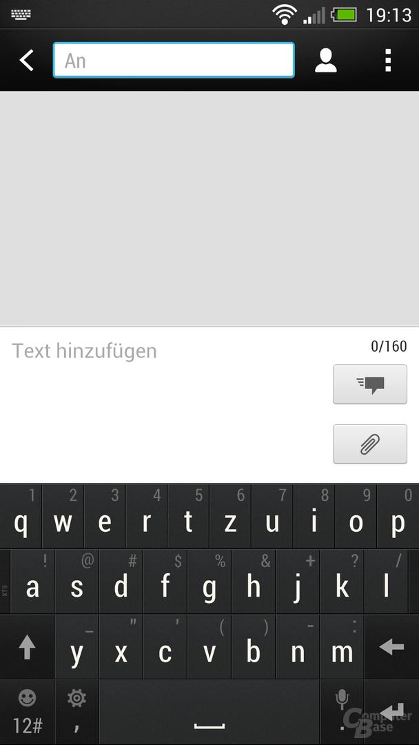 HTC One Nachrichten-App