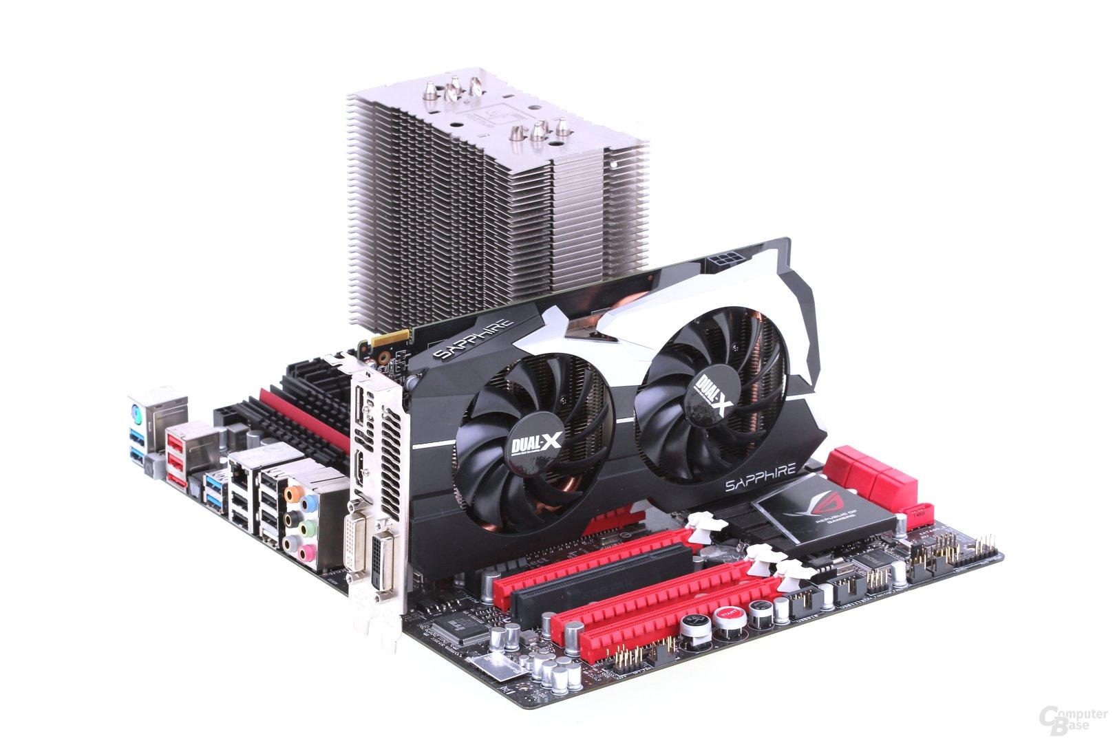 Sapphire Radeon HD 7790 Dual-X OC auf Asus Crosshair V Formula