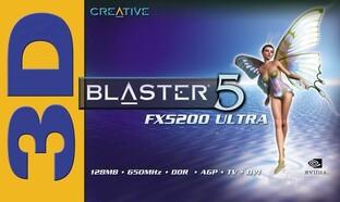 3D Blaster 5 FX 5200 Ultra