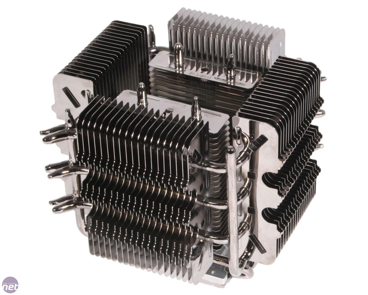 Zalman FX100: Radiator-Aufbau