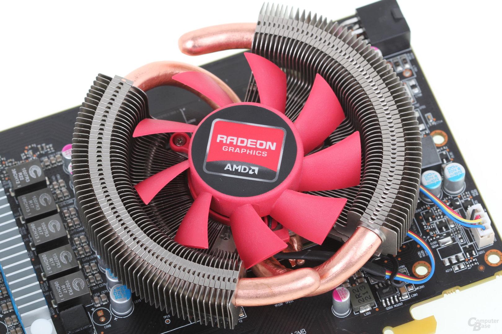 Lüfter der Radeon HD 7790 von Club3D