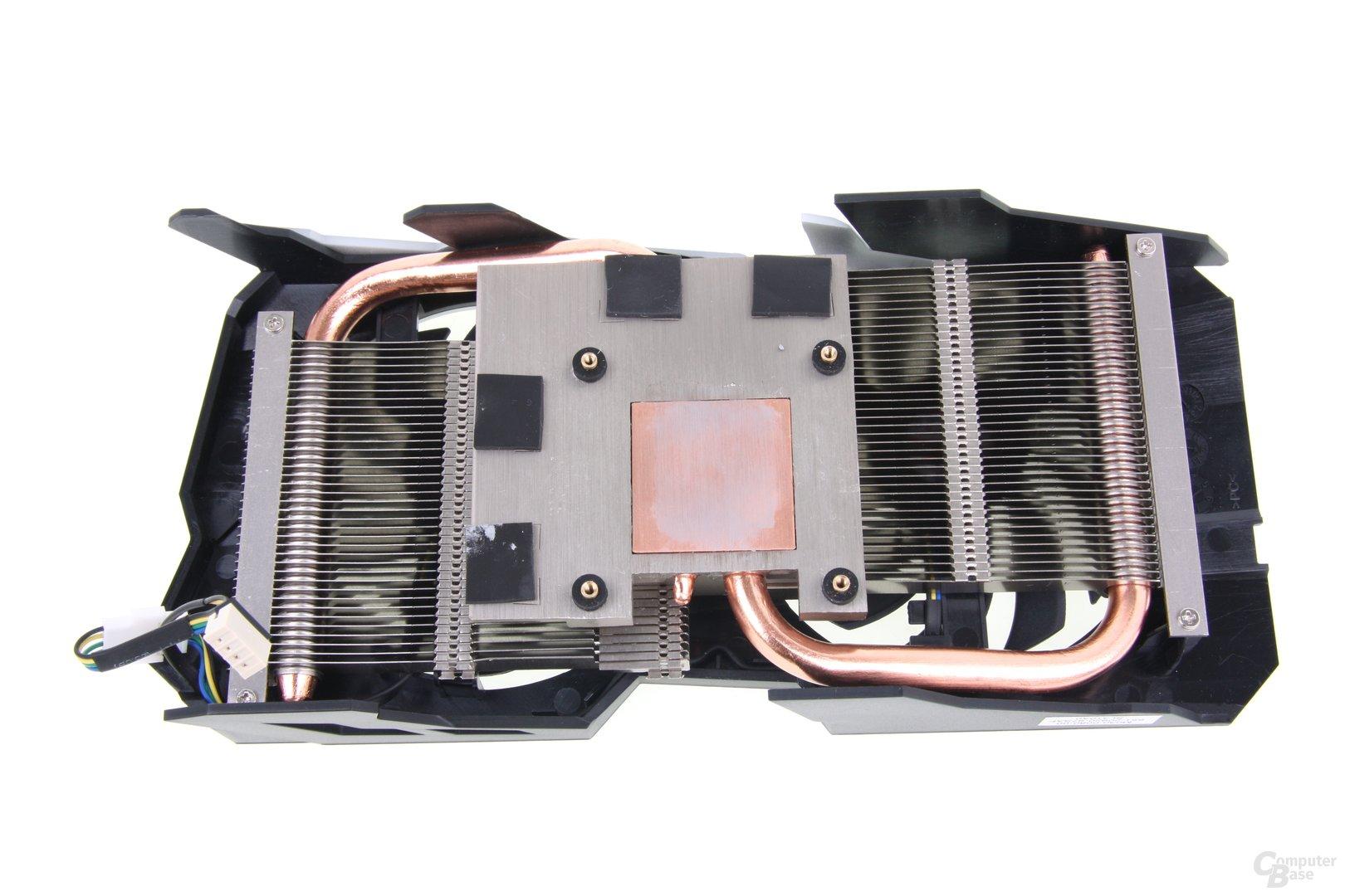 Radeon HD 7790 Dual-X OC Kühlerrückseite