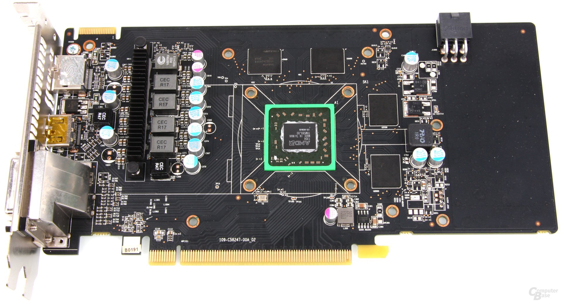 Radeon HD 7790 Dual-X OC ohne Kühler