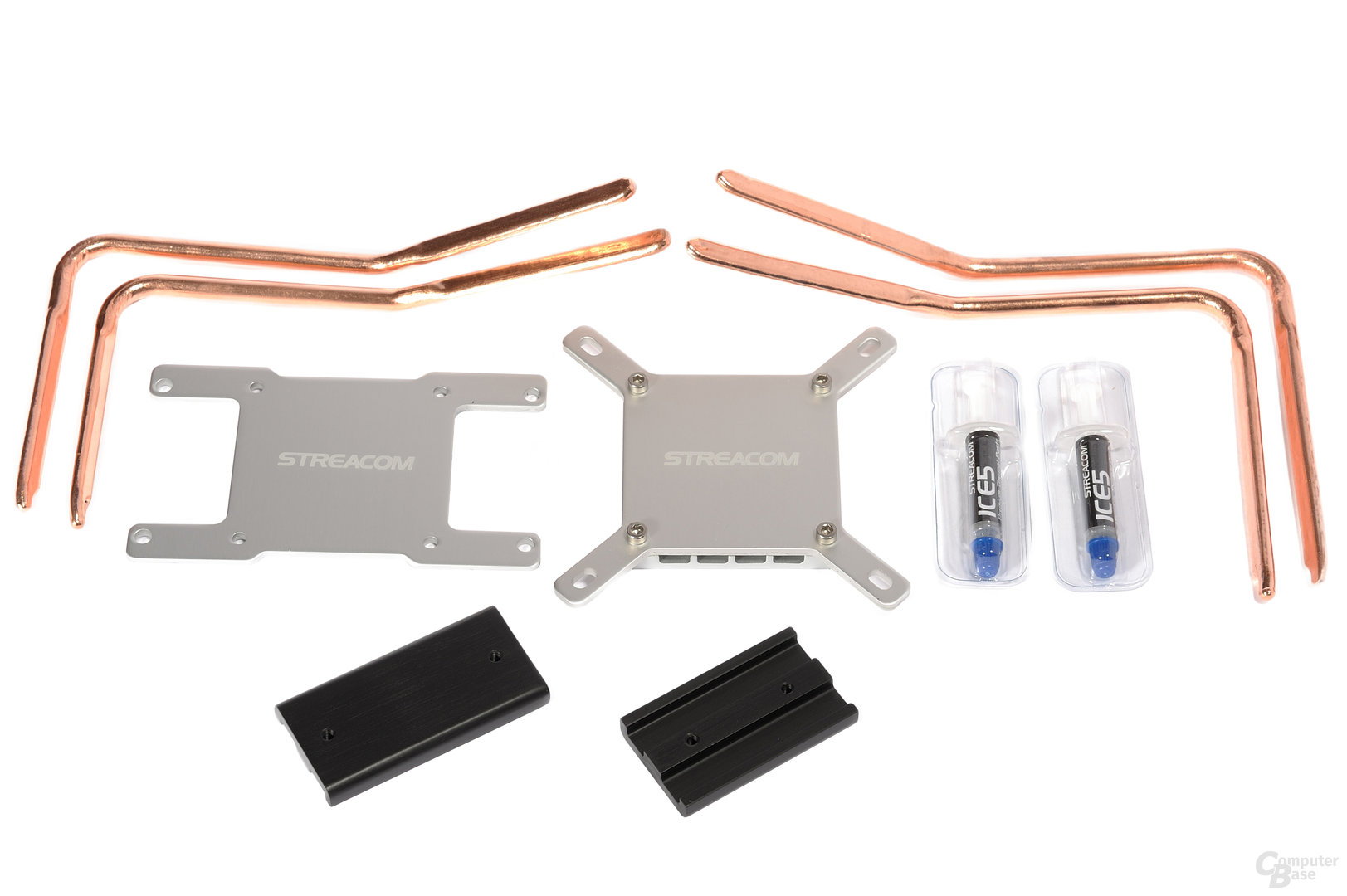 Streacom FC8 Evo – Passiver CPU-Kühler und Montagezubehör