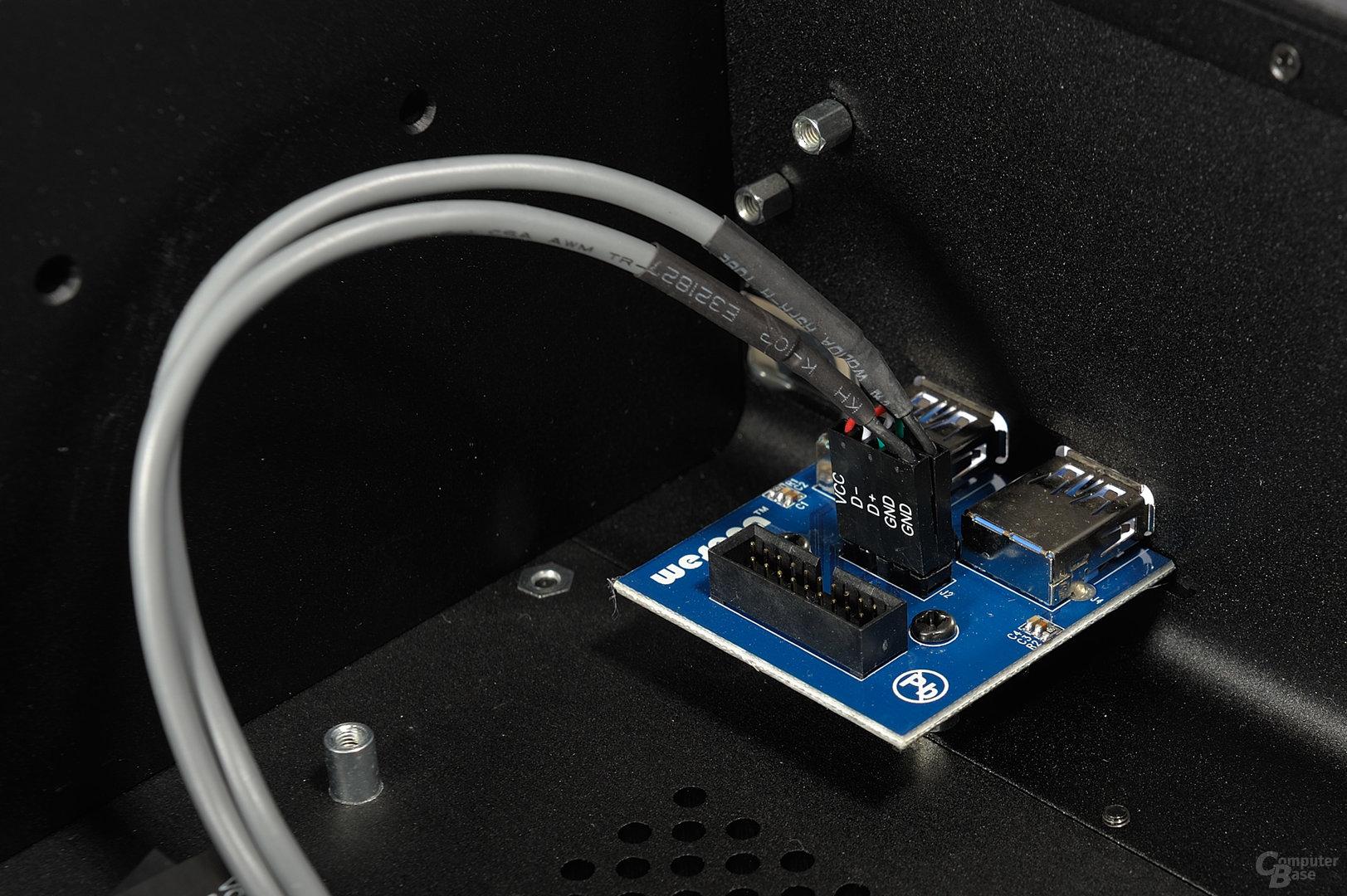 Streacom FC8 Evo – USB-Controllereinheit