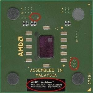 Gefälschter Athlon XP 2200+