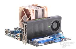 Nvidia GeForce GTX 650 Ti Boost auf Asus P9X79 Pro