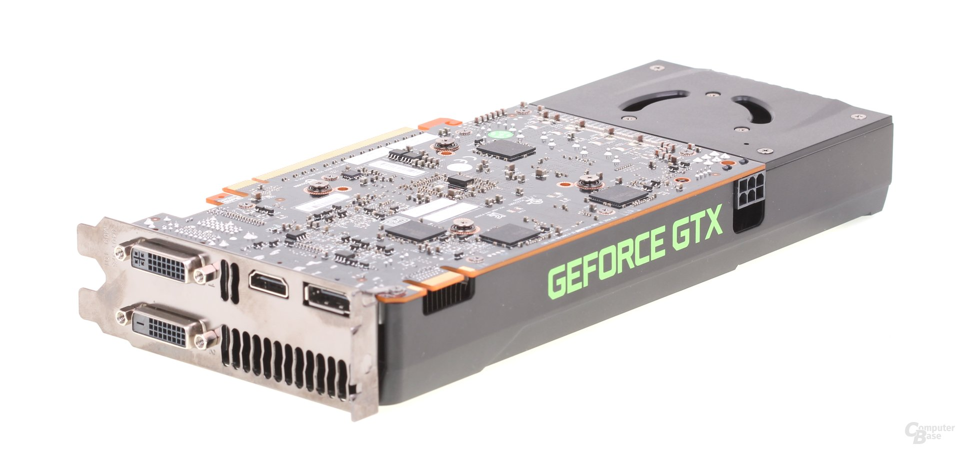 Nvidia GeForce GTX 650 Ti Boost Rückseite
