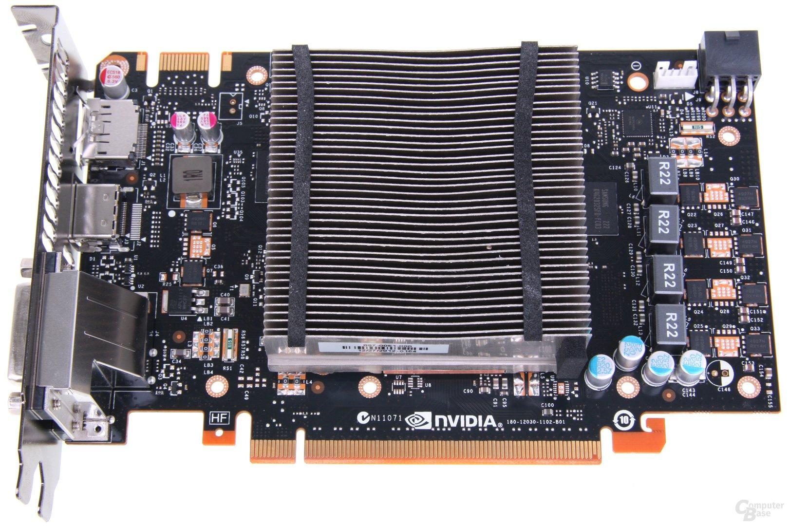 GeForce GTX 650 Ti Boost ohne Lüfter