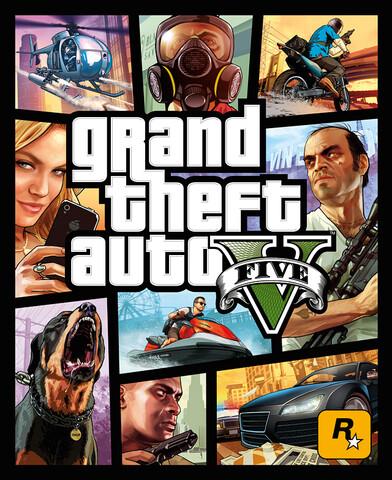Offizielles Cover für GTA V