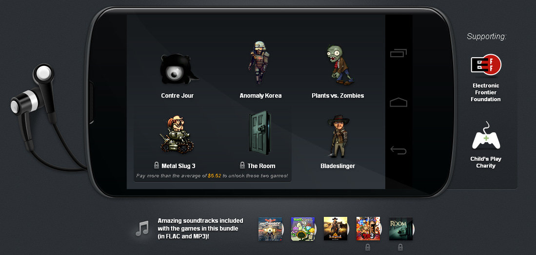 Humble Bundle 5 für Android
