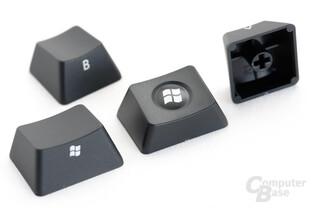 Filco liefert die Win-Kappen in zwei Varianten mit