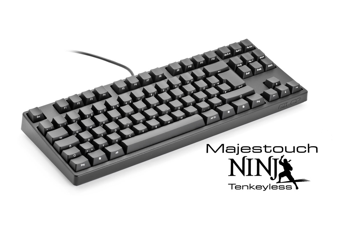 Filco Majestouch Ninja Tenkeyless – hohe Qualität zum stolzen Preis