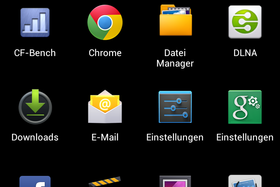 Screenshot des Huawei Ascend D Quad XL