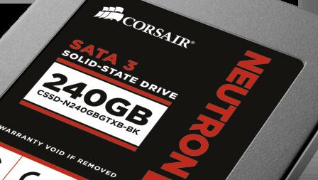 Corsair Neutron GTX 240 GB im Test: Ausnahme-SDD mit Controller von LAMD