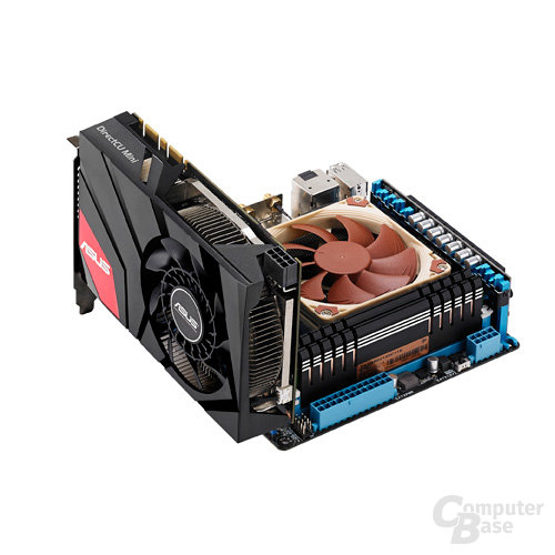 Asus GeForce GTX 670 DirectCU Mini vorgestellt