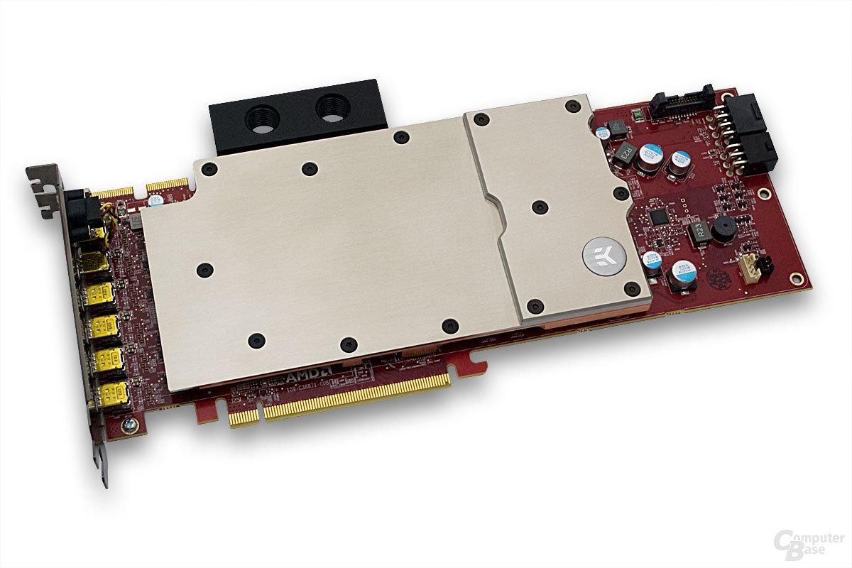 Wasserkühlung für AMD FirePro W9000