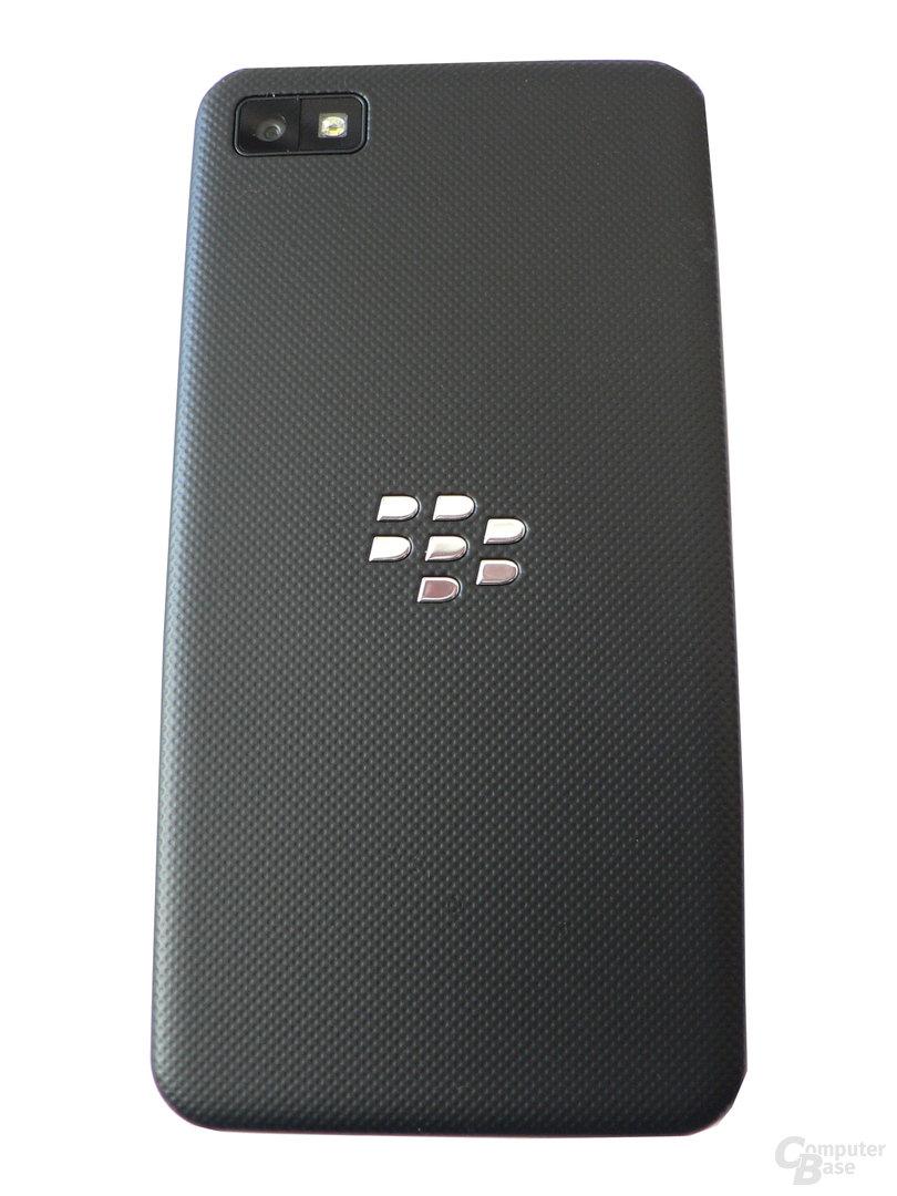 BlackBerry Z10 - Rückseite