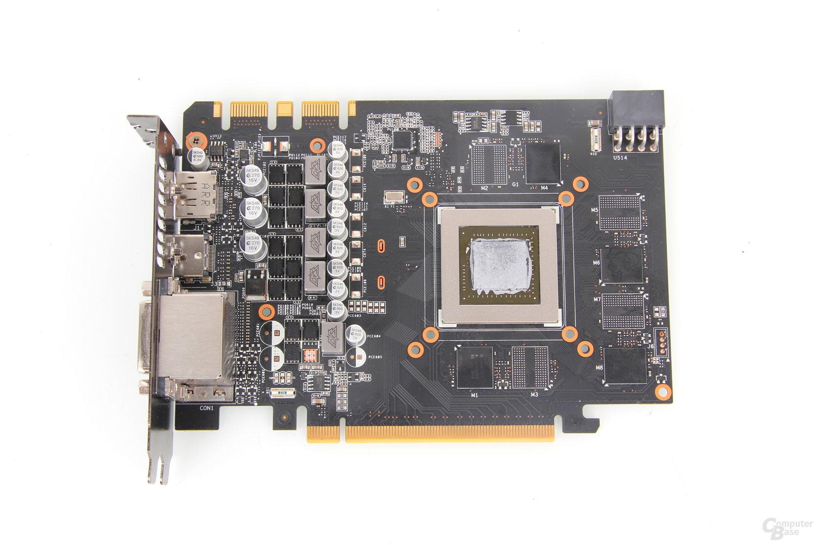 Asus GeForce GTX 670 DirectCU Mini PCB
