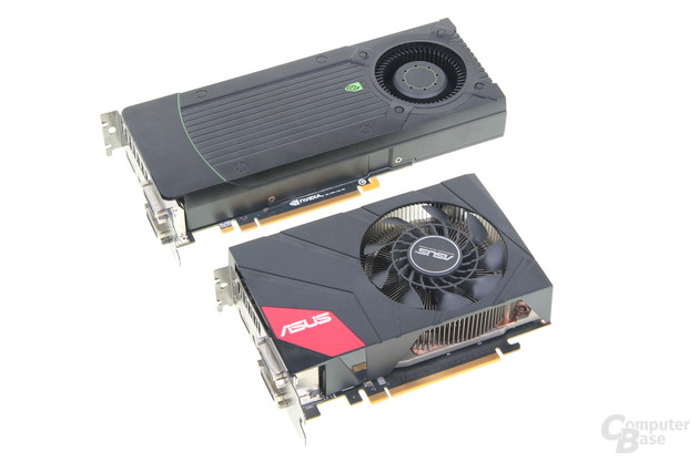 Nvidia GeForce GTX 670 und Asus GeForce GTX 670 DirectCU Mini