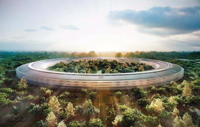 Geplantes neues Apple-Hauptquartier