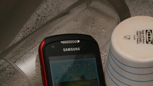 Samsung Galaxy Xcover 2 im Test: Robustes Smartphone für den Geländeeinsatz