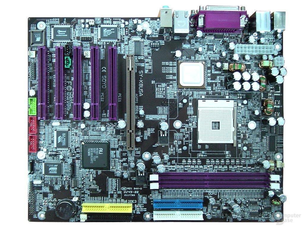 SY-K8USA - Athlon 64 Mainboard