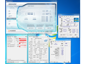 Test mit 1.333 MHz Speichertakt & 1.200 MHz GPU-Takt (OC)