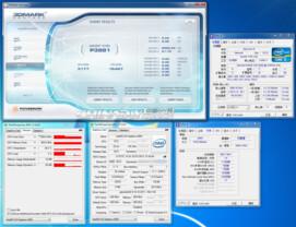 Test mit 800 MHz Speichertakt (Standard)