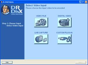 Dr. DivX Input