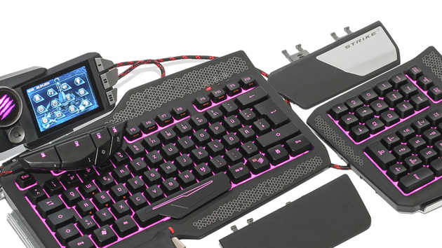 Mad Catz S.T.R.I.K.E. 7 im Test: Gut gemeinter Tastatur-Transformer