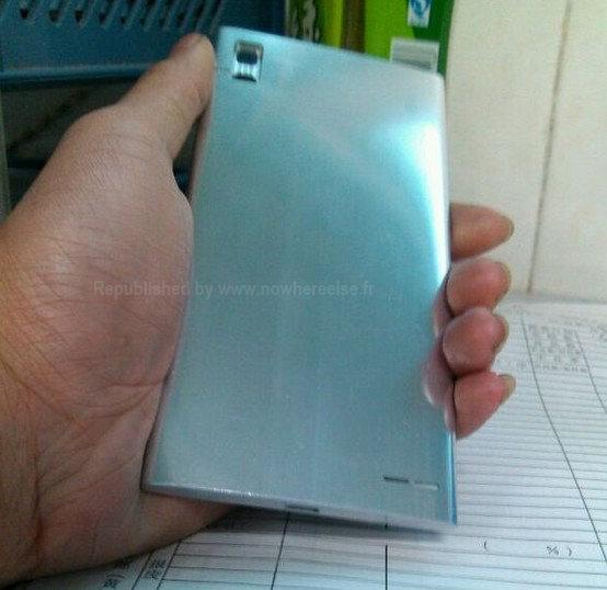 Angebliches Aluminium-Unibody des Huawei Edge