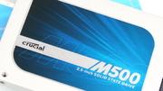 Crucial M500 480 GB SSD im Test: Viel SSD für relativ wenig Geld