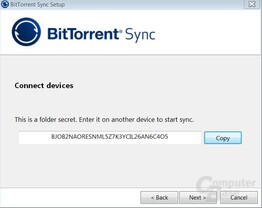 BtSync Windows
