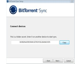 BtSync Windows