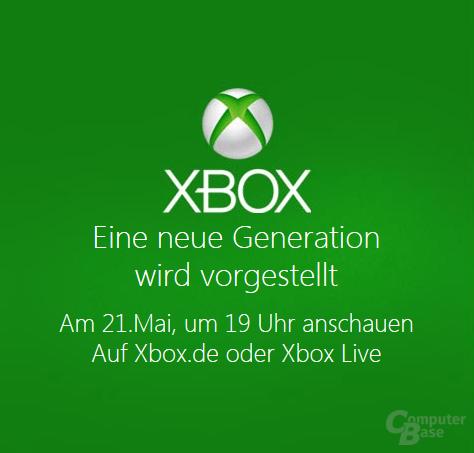 Enthüllung der neuen Xbox-Generation am 21. Mai