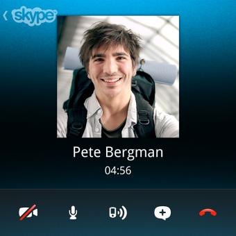 Skype-Client für das BlackBerry Q10