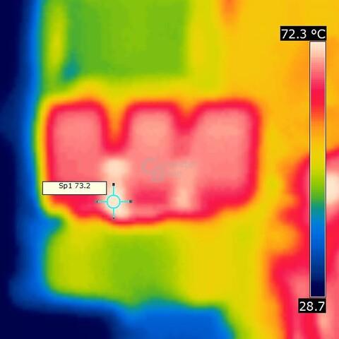 Wärmebild Brückengleichrichter