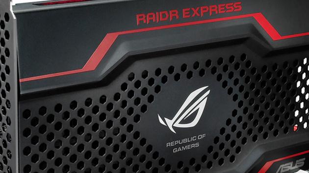 Asus RoG RAIDR Express 240 GB im Test: PCIe-SSD mit Ambitionen und Tücken