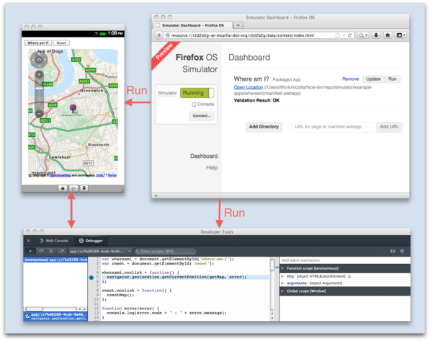 Firefox OS Simulator 3.0 im Überblick