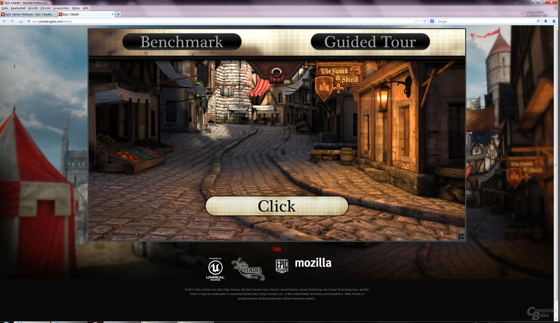 Epic Citadel: HTML5-Demo der Unreal Engine 3