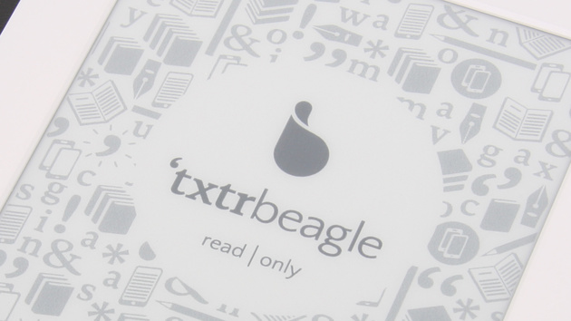 'txtr Beagle E-Book-Reader im Test: Ohne Akku gegen Kindle & Co.
